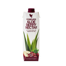 A burst of cranberry and sweet apple provides a sweet yet tangy flavour, and antioxidant vitamin C contributes to the protection of cells from oxidative stress. These amazing ingredients, plus 90.7% pure inner leaf aloe vera gel, makes Forever Aloe Berry Nectar a powerful choice.