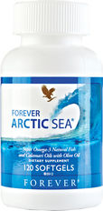 The human body cannot naturally make the omega-3 fatty acids which are commonly found in fish. Forever Arctic Sea's blend of natural fish, calamari and oleic olive oil contains the perfect balance of essential fatty acids EPA – which contributes to the normal function of the heart – and DHA – which contributes to the maintenance of normal brain function.