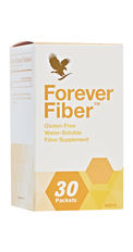 Fibre is a vital part of any healthy balanced diet and Forever Fiber makes it easy for you to add additional fibre to your daily intake. The convenient sachets contain a mild tasting, quick-dissolving powder, which can effortlessly add 5g of fibre – the equivalent of almost two slices of whole wheat toast – to any beverage.