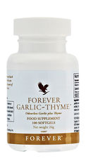 Garlic and thyme are powerful ingredients with properties that are said to promote good health; in fact, these herbs can be traced back thousands of years for their dietary uses. For full benefit, take one of these odourless softgels with each meal. N.B. Contains soy.