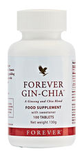 These spicy fresh-tasting tablets contain two ancient herbs: golden chia from the west and ginseng from the east.Gin-Chiais also high in vitamin C and provides you with a source of calcium. N.B. Contains soy.