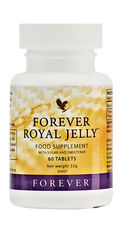 Natural royal jelly is an extremely nutritious and a biochemically complex honey bee secretion. The queen bee lives exclusively on royal jelly and it is thought to be the reason for her size and longevity.