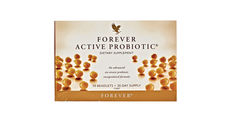 Forever Active Probiotic is delivered by patented encapsulation technology to ensure 'good bacteria' is released in the important part of your intestinal tract. These easy-to-swallow beadlets require no refrigeration, making them convenient to take while travelling or on the go. N.B. Contains soy.