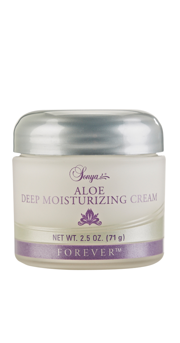 Some moisturisers are like a drip of water; this moisturiser is like ten fire hoses! Sonya Aloe Deep Moisturizing Cream quenches your skin's thirst by delivering moisture to the deeper layers. It also reduces the appearance of fine lines and wrinkles whilst promoting the elasticity of the skin. Includes pine bark extract. To be used after Sonya Aloe Nourishing Serum to lock in nutrients.