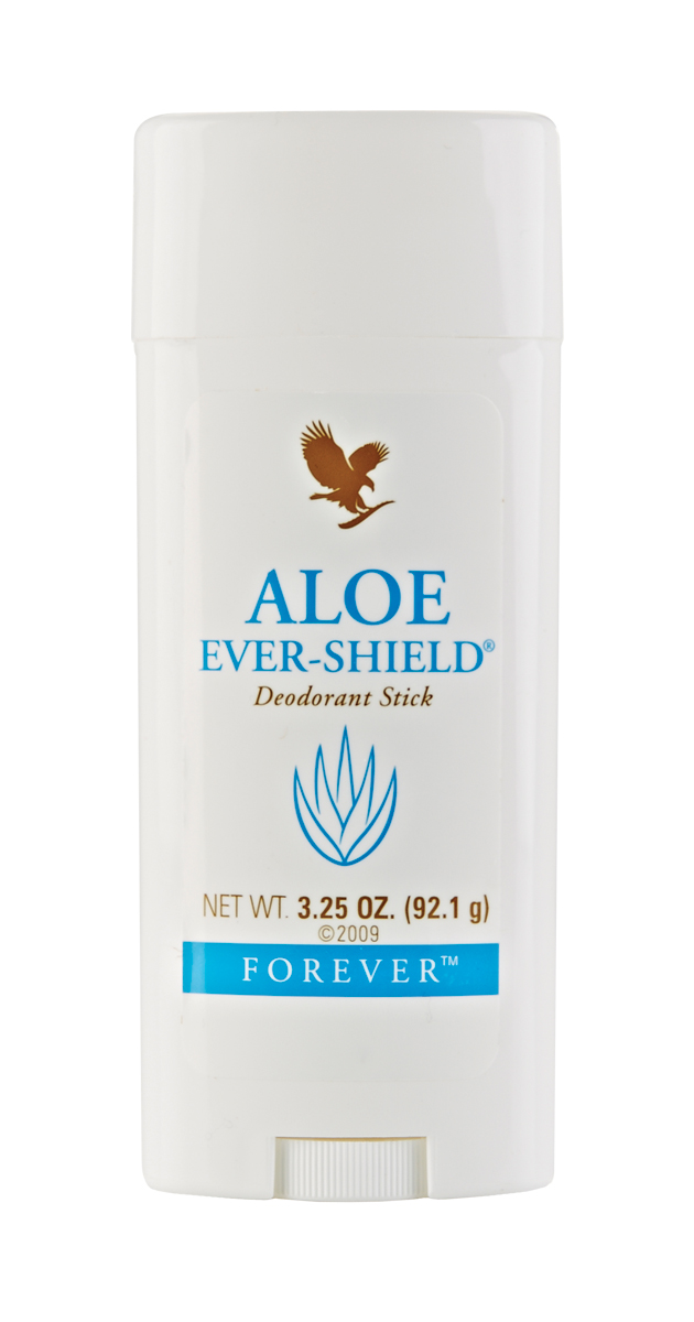 Aloe Ever-Shield Deodorant provides effective, all-day protection. This gentle yet powerful product is non-irritating and does not stain clothes. The aloe vera formula contains no alcohol or harsh aluminium salts usually found in anti-perspirant deodorants and can be used to soothe after underarm shaving and waxing.