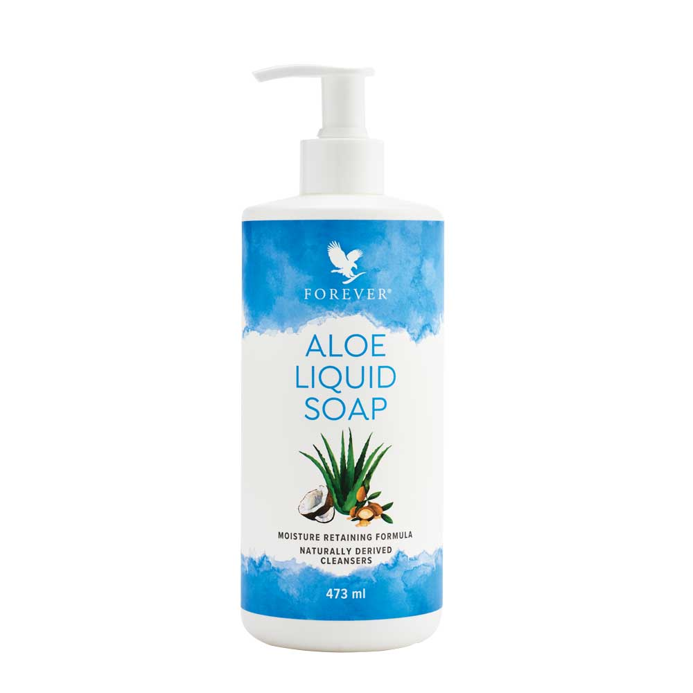 Forever's Aloe Liquid Soap&nbsp;moisturises as it cleanses. Gently washes away dirt and debris with a gentle lather, and infuses your skin with moisture from pure aloe vera and an ideal blend of jojoba and oils for skin that feels fresh and renewed.