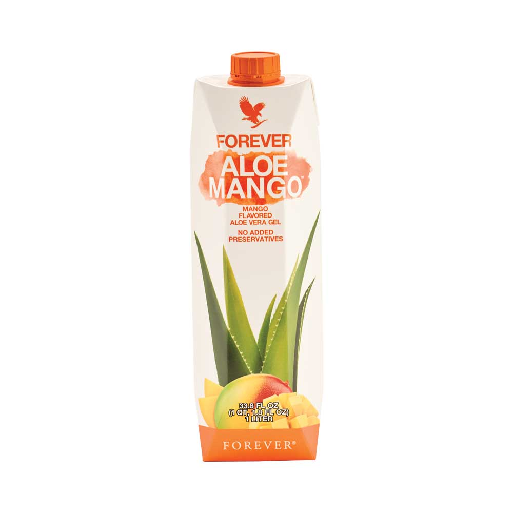 <b>Forever Aloe Mango</b>&nbsp;features all the benefits of our flagship&nbsp;<b>Forever Aloe Vera Gel</b>with 86% pure aloe vera and the delicious flavour from natural, tropical mango puree. Mangoes are full of nutrients and contain important vitamins like vitamin C, which contributes to the normal function of the immune system and to a normal energy-yielding metabolism.&nbsp; The fruit used in&nbsp;<b>Forever Aloe Mango&nbsp;</b>is harvested at peak ripeness to ensure the rich flavour and nutrient content has reached just the right levels. <b>Warning</b><br />If you are pregnant, breastfeeding, planning pregnancy, taking any medications or are under medical supervision, please consult a doctor or healthcare professional before use.