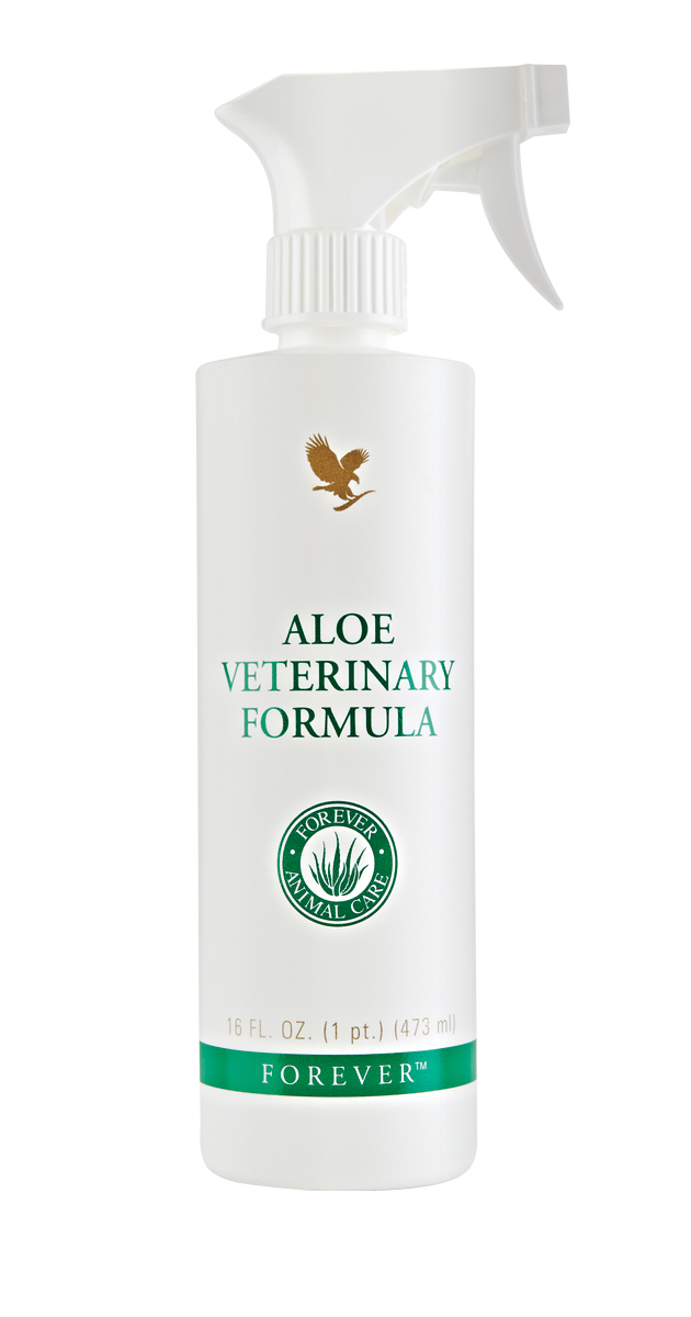 Pets are part of the family too and Aloe Veterinary Formula is better than any belly scratch so it's the perfect way to show that you care! This easy-to-apply spray is ideal for soothing irritations, cleansing areas before applying dressings or to achieve a glossy and conditioned coat after bathing. The gentle formula can be diluted to cleanse irritated eyes or to clean dirty ears. It can also be used as a soothing leg wash to provide protection after exercise. For pets and horses.