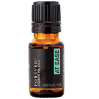 The At Ease blend provides a combination of wintergreen, lavandin, eucalyptus, coriander, olibanum, rosemary, roman chamomile, peppermint, basil and origanum, specifically combined to promote harmony and inner-calm.