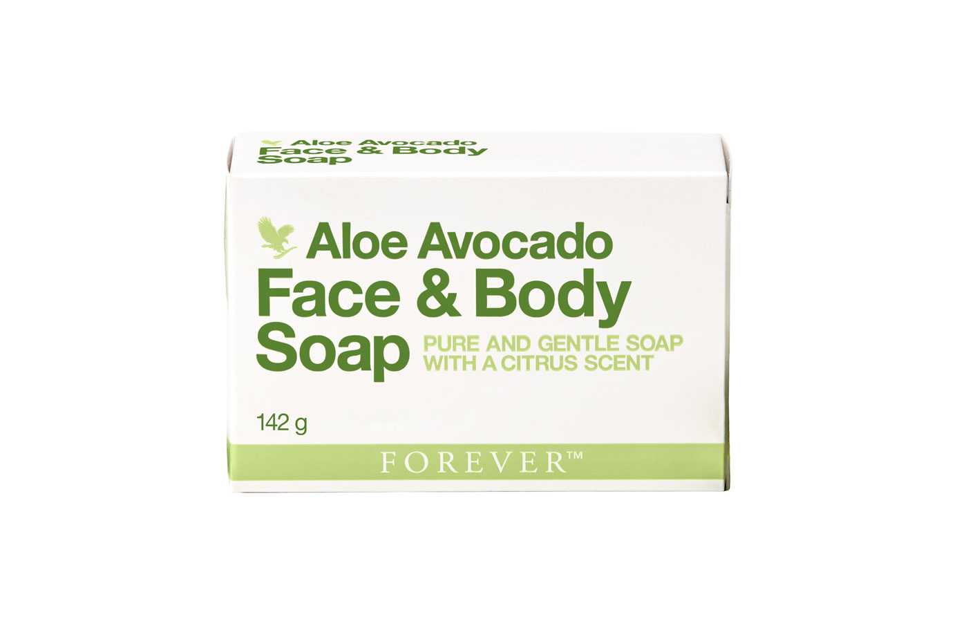 Forever's pure inner leaf aloe vera gel has been combined with a unique blend of botanicals and creamy avocado to deeply moisturise and gently cleanse, leaving skin feeling soft and supple. The Aloe Avocado Face & Body Soap is gentle enough for your entire body and face and leaves behind a scent of freshly-picked citrus. The richness of the avocado also helps dry skin feel smooth thanks to beneficial vitamins like A, C and E.​