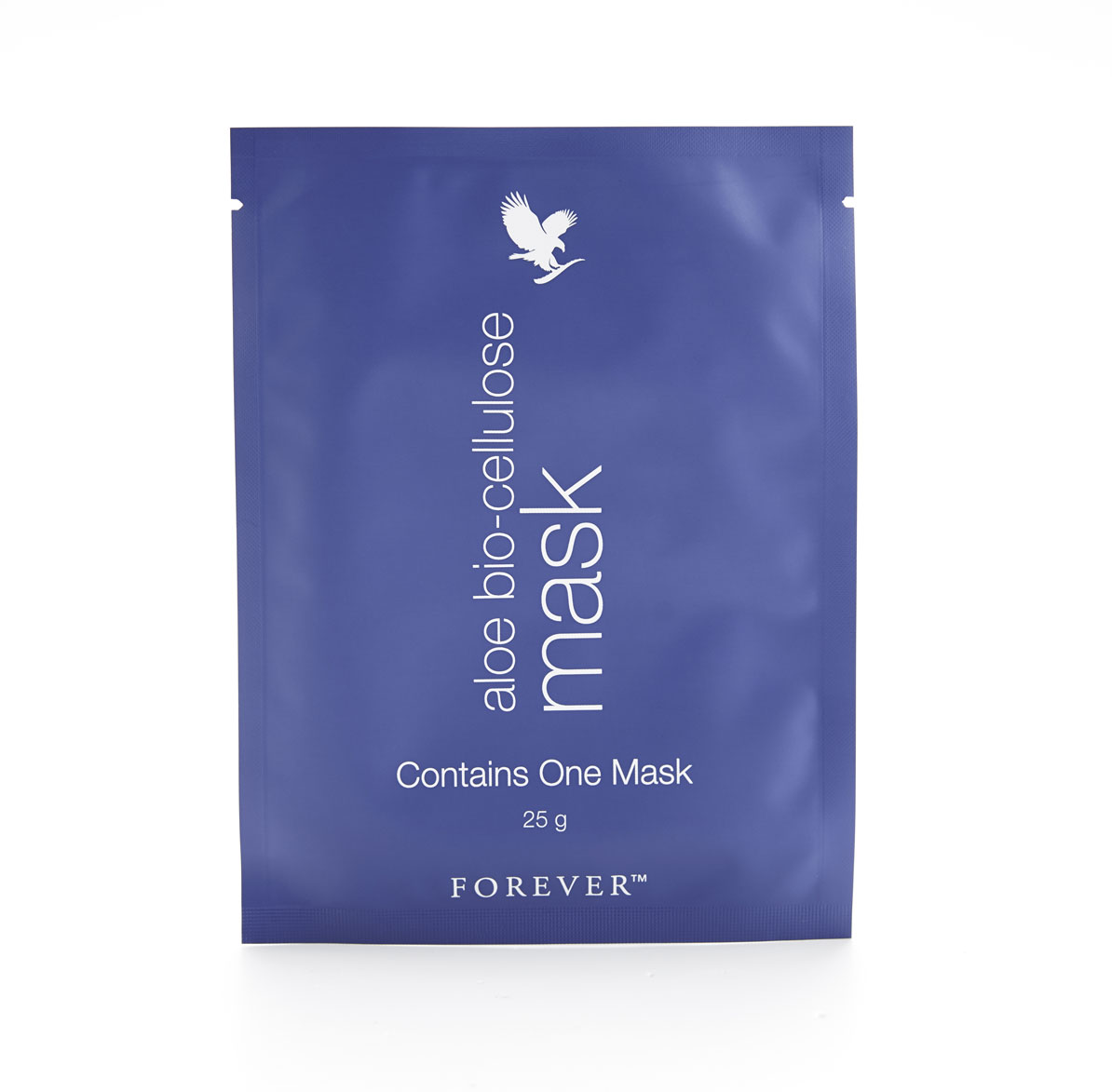 Forever's Aloe Bio-cellulose Mask provides potent hydration thanks to forward-thinking technology and natural ingredients. Its bio-cellulose fibres fit the contours of your face to deeply moisturise and to ensure every impressive botanical penetrates the fine lines and wrinkles traditional sheet masks fail to reach. Through a process unique to Forever, Aloe Bio-cellulose Mask's formula fuses pure aloe and seagrass with the bio-cellulose fabric to soothe, soften and condition skin. This environmentally-friendly mask has also been enriched by a moisturising serum of green tea and horse chestnut that rejuvenates dull skin by combatting the signs of ageing and reducing the appearance of redness.