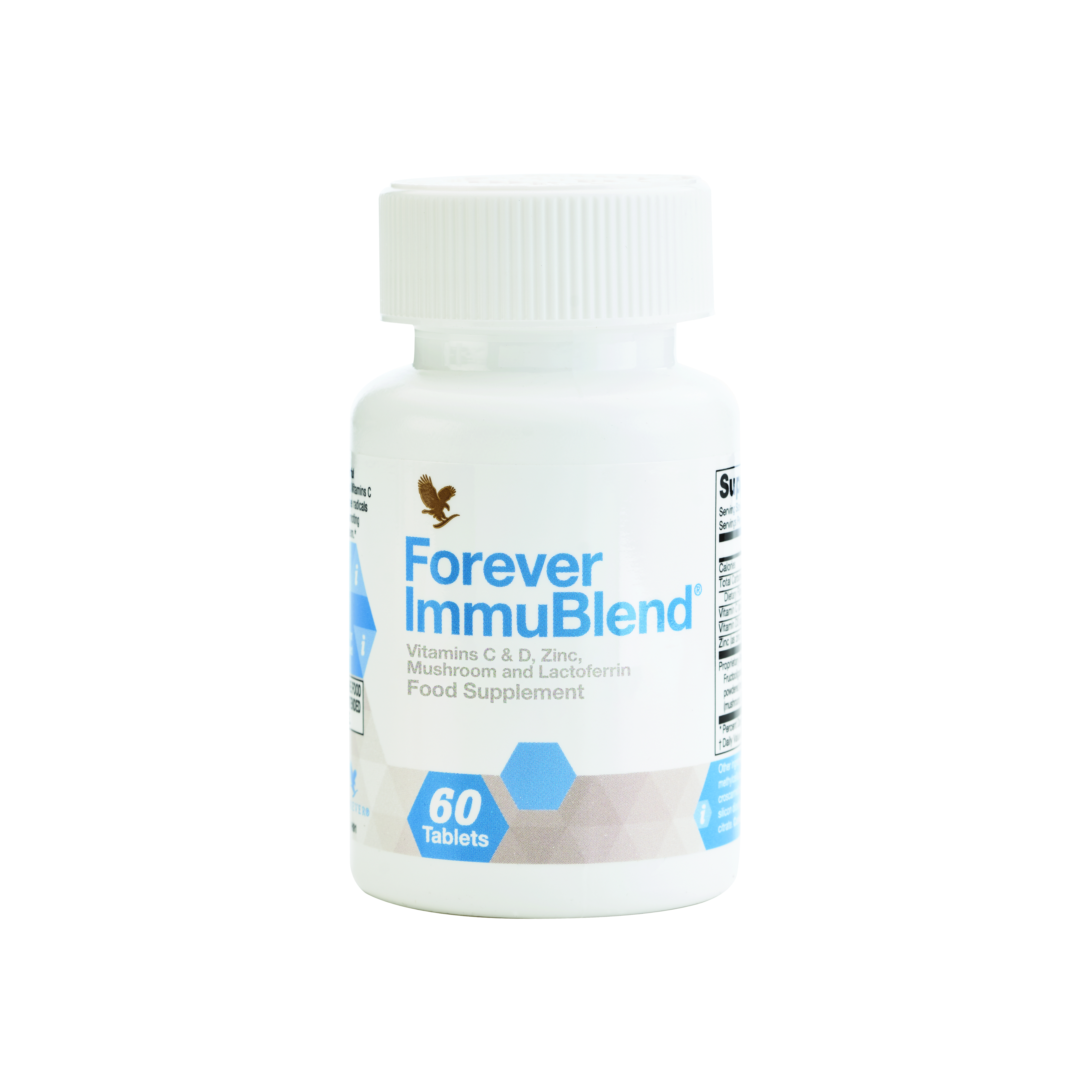 Help support the body's defence system with Forever Immublend. This supplement is high in vitamin C, D and zinc, all of which contribute to the normal function of the immune system.