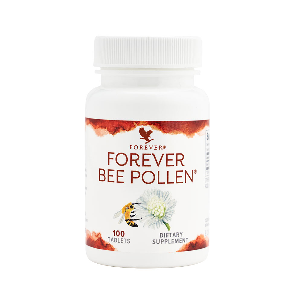 Bee pollen, dubbed a 'miracle food', is a nutritionally-rich substance that provides bees with everything they need to survive. Forever sources its pollen using a patented pollen trap which collects pollen without destroying the colony. This pollen has then been combined with honey and royal jelly to create Forever Bee Pollen, a fresh and potent supplement.