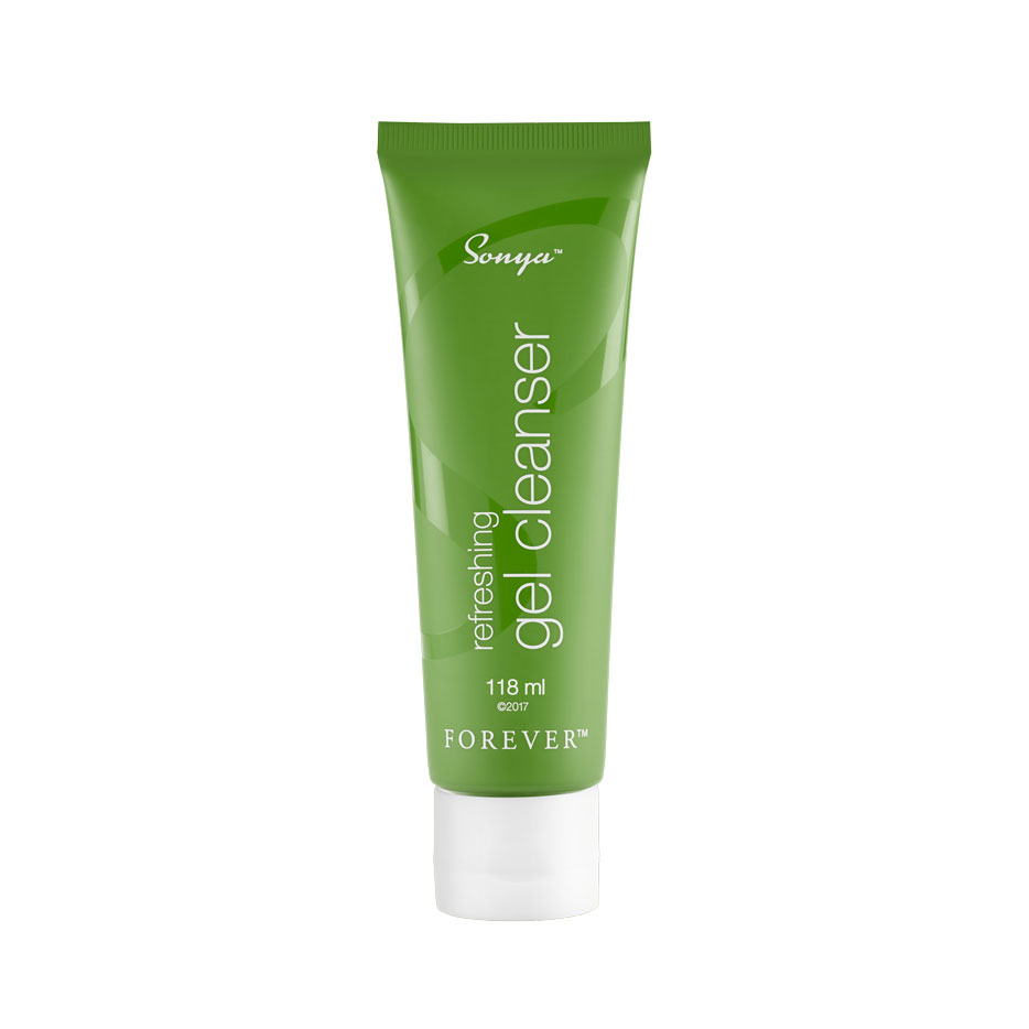 Move over traditional cleansers! Sonya Refreshing Gel Cleanser features our aloe gel, plus moisturising agents like cold-pressed baobab oil to leave skin feeling soothed and moisturised. Rich antioxidants like apple amino acids and hydroxyacetophenone support combination skin, while natural cleanser acacia concinna fruit extract helps remove dead cell build up, dirt and makeup for a thorough and gentle clean.