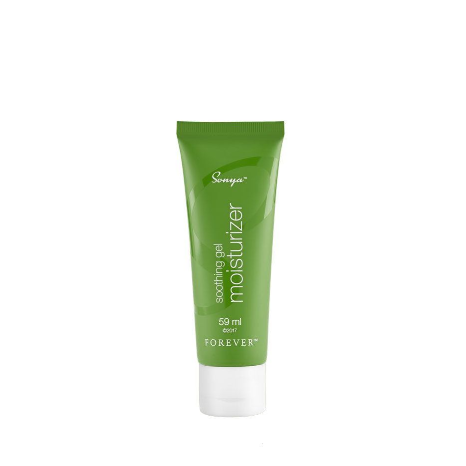 Filled with lush botanicals and powerful ingredients, Sonya Soothing Gel Moisturizer breaks down into a hydra-infused carrier leaving behind a moist and dewy complexion. With over ten natural plant extracts and oils, plus beta-glucan extracted from mushrooms, hydrolysed collagen and apple fruit extract, this formula gives combination skin the powerful soothing and moisturising properties it craves.