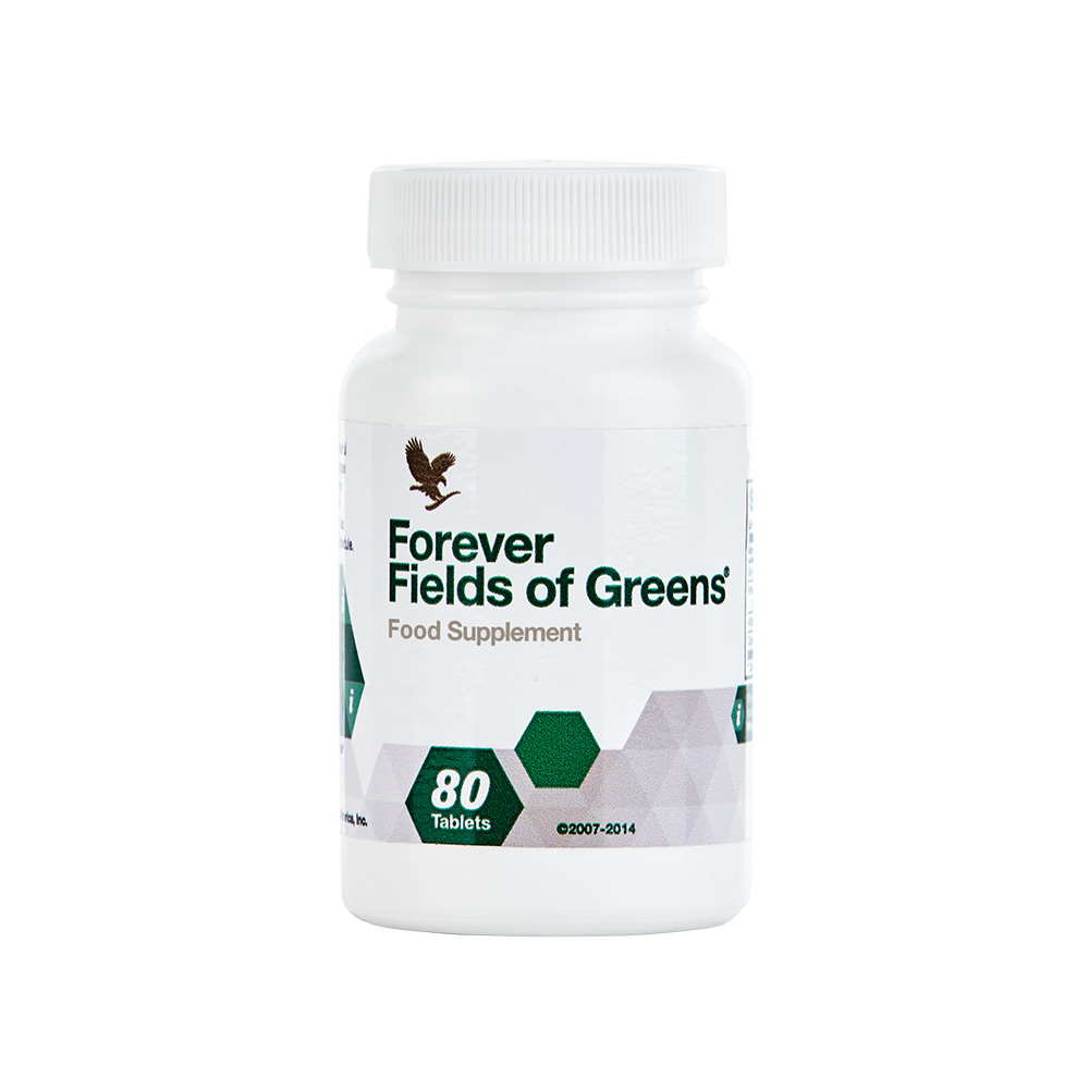 It's never a good idea to neglect fresh green foods, but if you do feel like you need a top up,Fields of Greenscontains a high source of fibre through ingredients such as barley grass, wheat grass and alfalfa.
