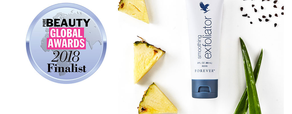 Smoothing Exfoliator nominated at the Pure Beauty Global Awards