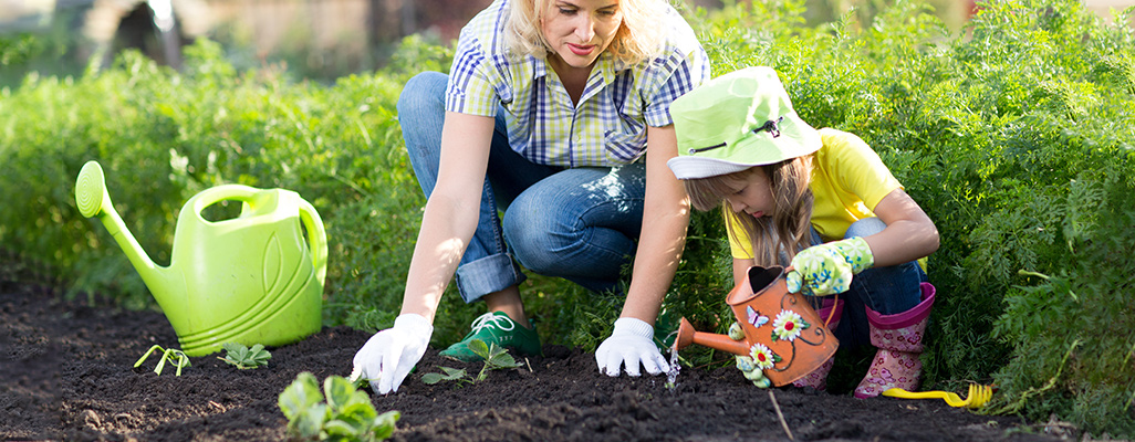 How to get active and educational during Children's Gardening Week