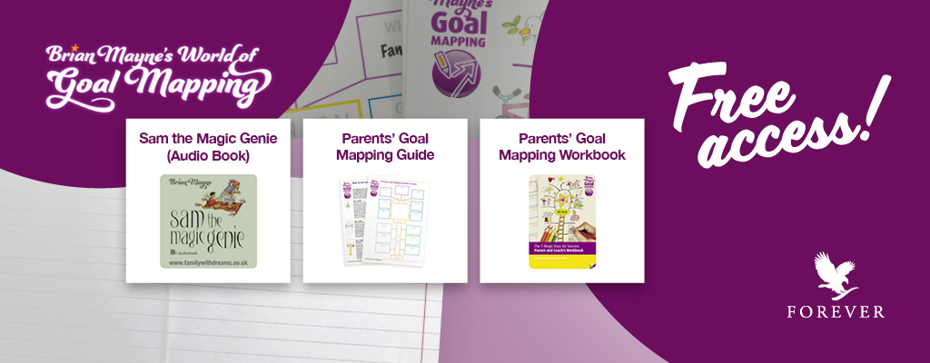 Free Goal Mapping and audio book by Brian Mayne