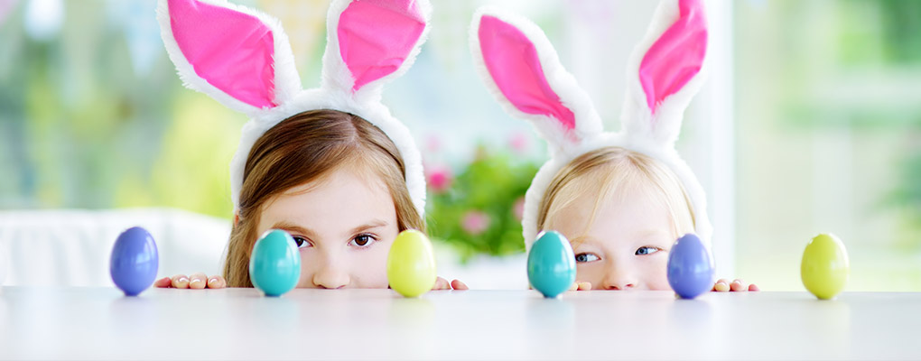 At Home Easter activities to keep the kids entertained!