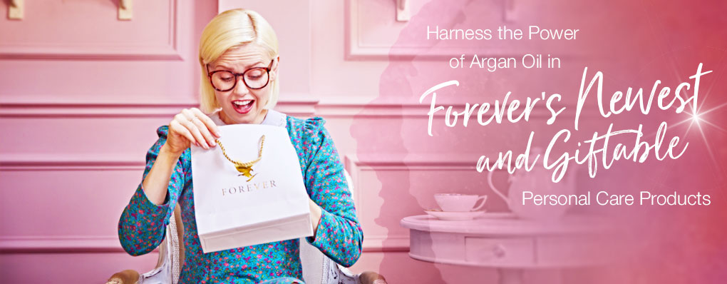 Harness the Power of Argan Oil in Forever's Newest (and Giftable!) Personal Care Products