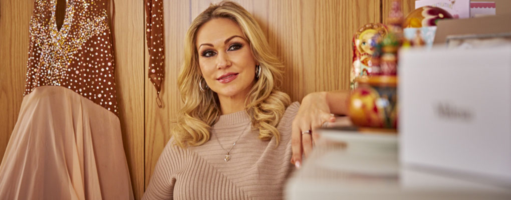 A Day in the Life of Kristina Rihanoff