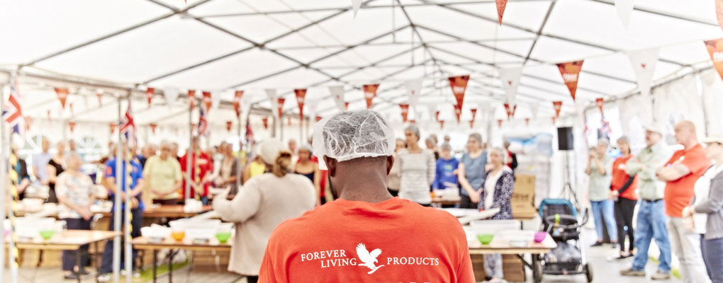 Forever Living and Rise Against Hunger reach their goal