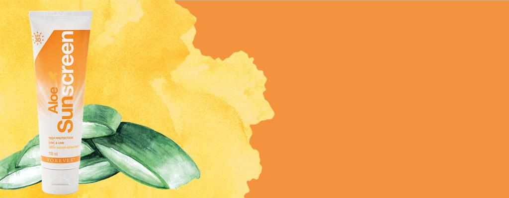 Soak in The Skin Benefits with Aloe Sunscreen