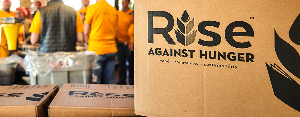 Forever's Partnership with Rise Against Hunger