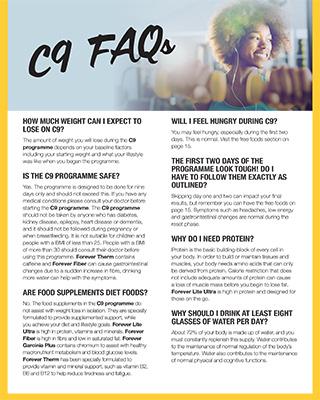 C9 FAQs