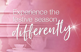 Experience the festive season differently
