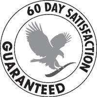 60-day Satisfaction Guaranteed