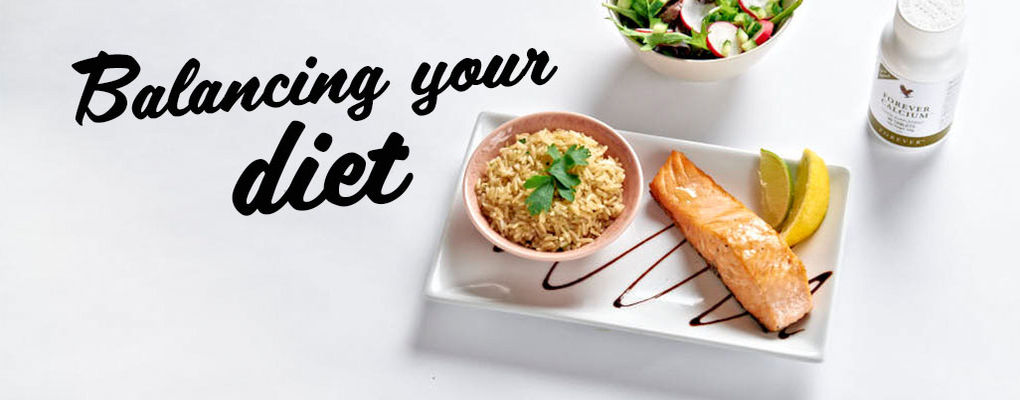 Banner image for the article How to properly balance your diet