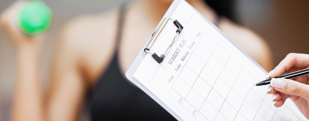 Banner image for the article How to stay on track with your fitness plans