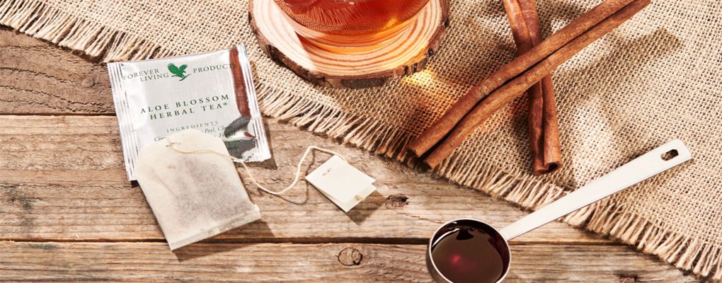 Banner image for the article Key ingredients in Aloe Blossom Herbal Tea