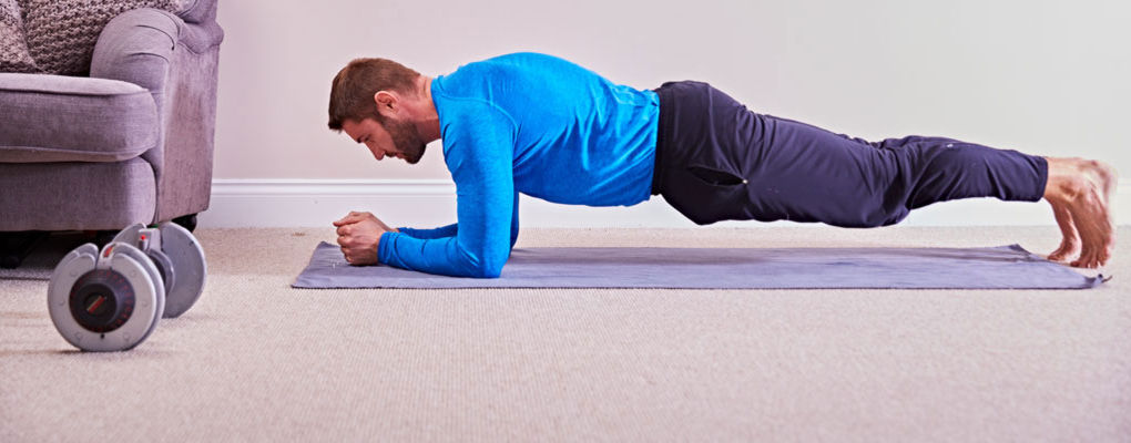 Banner image for the article How to Plank with Ben Cohen