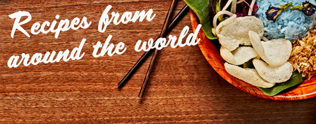 Banner image for the article Recipes from Around the World