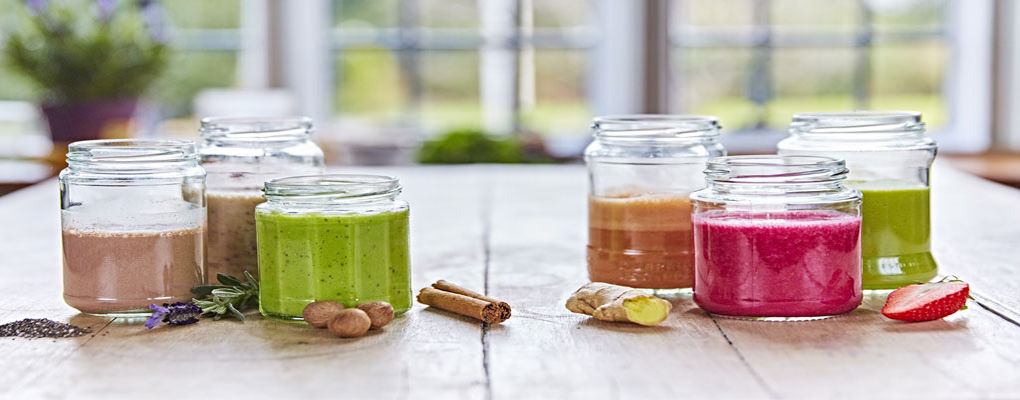 Banner image for the article Six colourful and healthy smoothie recipes