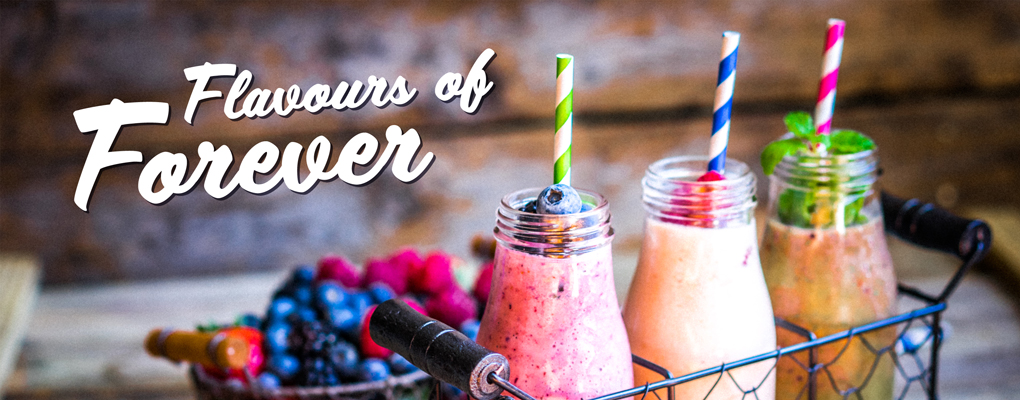 Get ready for the taste of spring with our Flavours of Forever and Shake of the Month recipes for April!