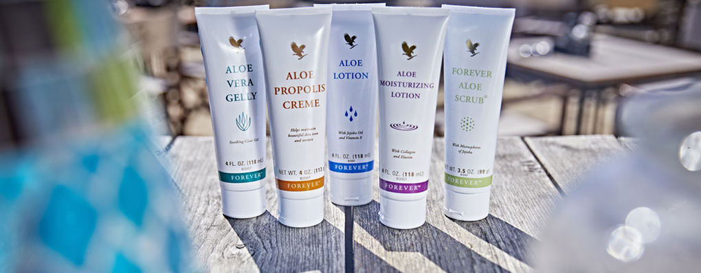 Aloe vera is packed with goodness which is why it has formed the foundation of Forever's product line.