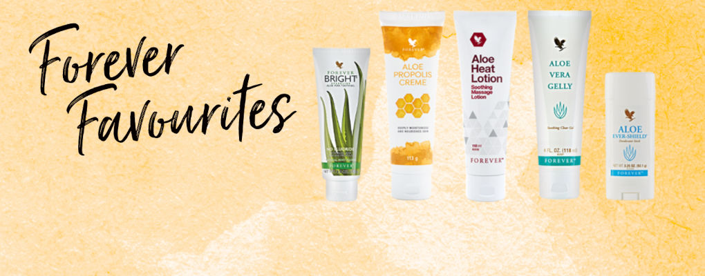 Banner image for the article Why our Forever Favourites are a great way to introduce new customers to Forever's products