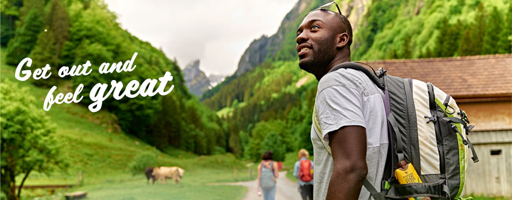 Banner image for the article Get out and feel great