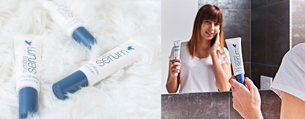 Banner image for the article Hydrating Serum - Forever's New Go-To for Extra Hydration