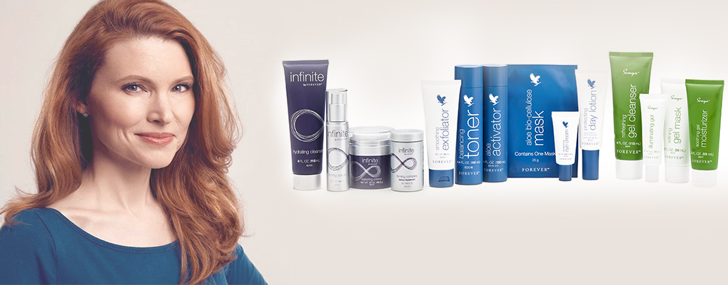 Banner image for the article Forever Living's skincare and anti-ageing ingredients –with Jeannie McGinnis