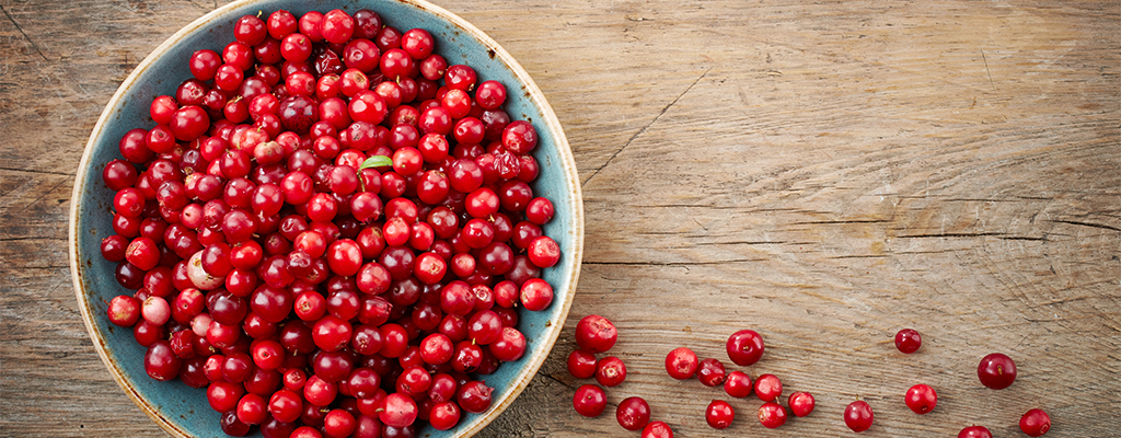Cranberries generally come into season around Autumn, specifically between September and November.