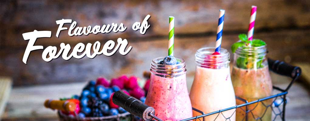 Banner image for the article Flavours of Forever August