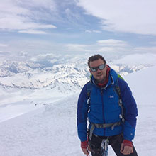Marcus Leach, one of Forever's global ambassadors, has just returned from Russia after successfully reaching the summit of Mount Elbrus.