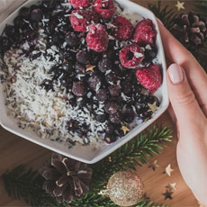 It's well-documented that Christmas is a time for indulgence, but the parties, sweet treats and merriment can be a real struggle if you're trying to stay healthy.